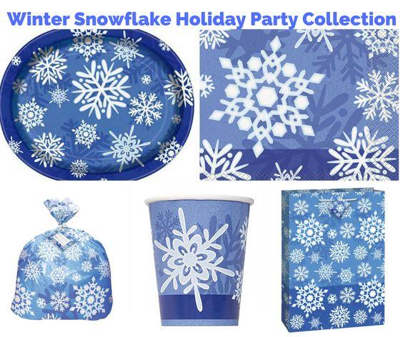 Winter Snowflake Holiday