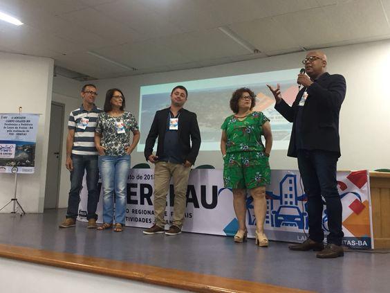 FAUmília (organizadores) no VIII Erefau em Lauro de Freitas, BA, nos dias 16, 17 e 18/08/2018.
