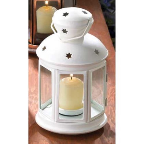 17 Bulk White Country Western Candle Holder Lantern Wedding Table Centerpiece Ebay Candle Lanterns Colonial Candle Western Candles