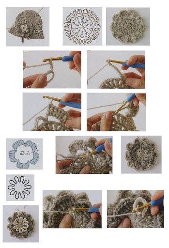 Crocheted flowers - Annie Mendoza - Álbuns da web do Picasa