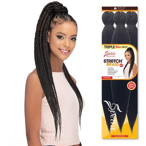 Spetra Pre Stretched Braided Hairstyles Braids Beauty Supply