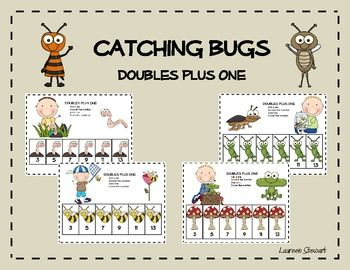 Enjoy this free Catching Bugs Doubles Plus One math work station! Doubles Plus One is a super way to practice mental math strategies. Students ...