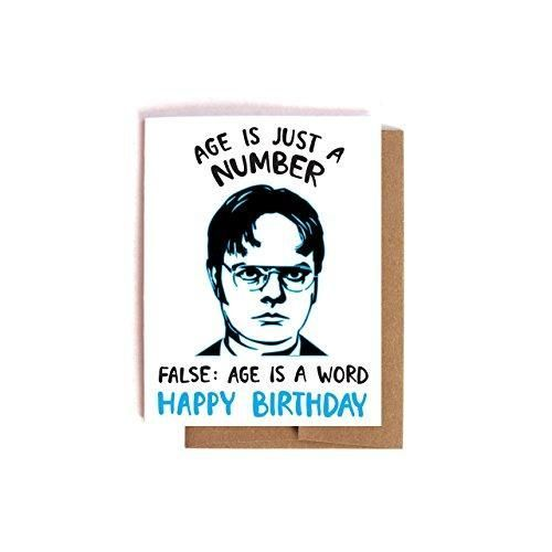 Dwight Schrute Birthday Card Dad Birthday Card Best Friend