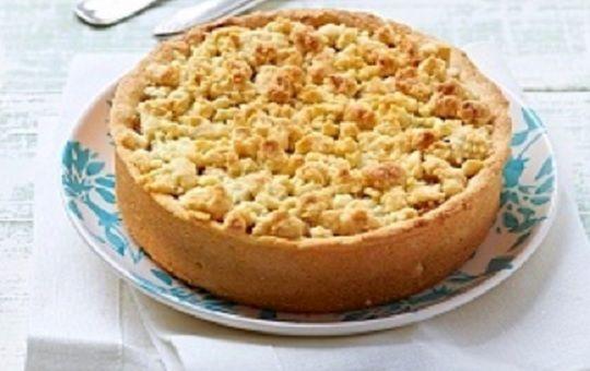 Torta Crumble De Manzanas Receta Kuchen De Manzana Receta De Pastel De Manzana Receta De Pastafrola