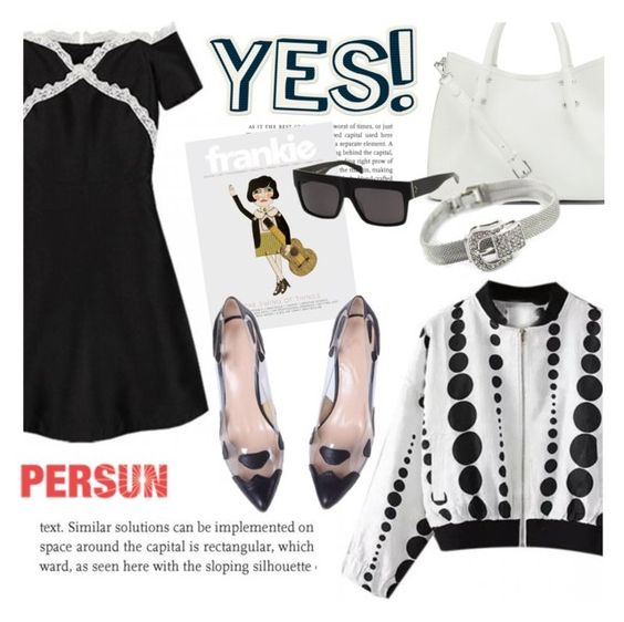 """Yes"" by helenevlacho ❤ liked on Polyvore featuring moda, Vince Camuto e persunmall"