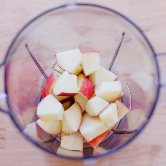 The signature Apple Cinnamon smoothie - Deer&Doe ● Pretty sewing patterns - blog