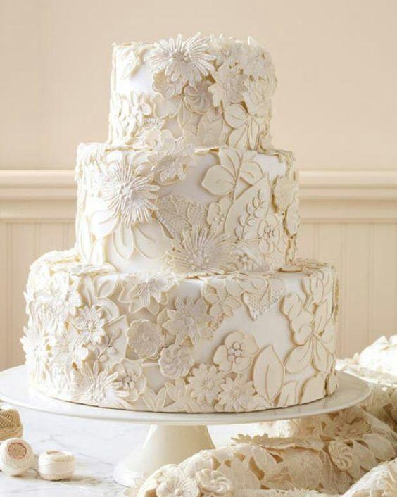 Eine wunderschöne Hochzeitstorte!