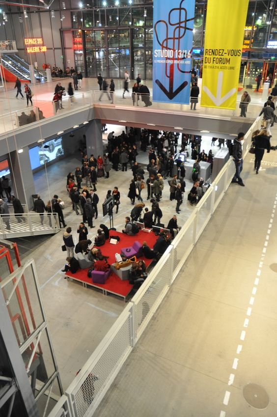 opening of the Rencontres Internationales Paris/Berlin/Madrid in Paris at the Centre Pompidou, November 26th 2010.