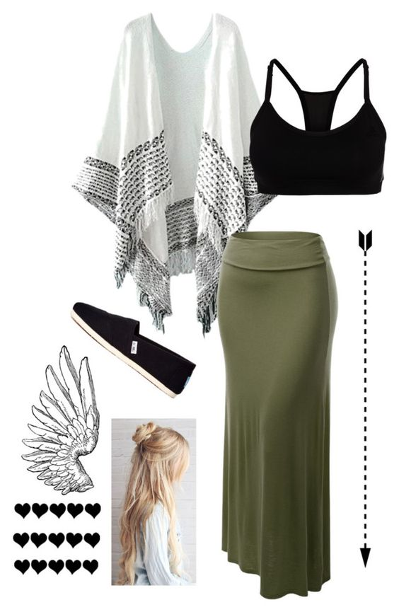 """""""#61"""" by dmartens388 on Polyvore featuring J.TOMSON, adidas and TOMS"""