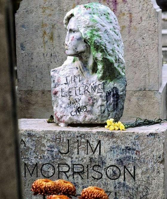Jim Morrison Pilgerstätte