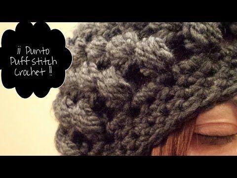 Gorro de ganchillo Tutorial / Crochet Hat Puff Stich