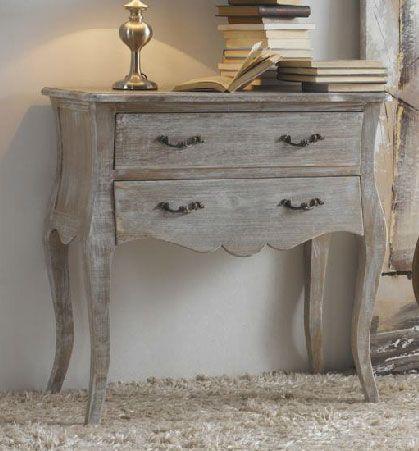 Comoda 2 cajones madera decape muebles decape pinterest - Sillones antiguos para restaurar ...