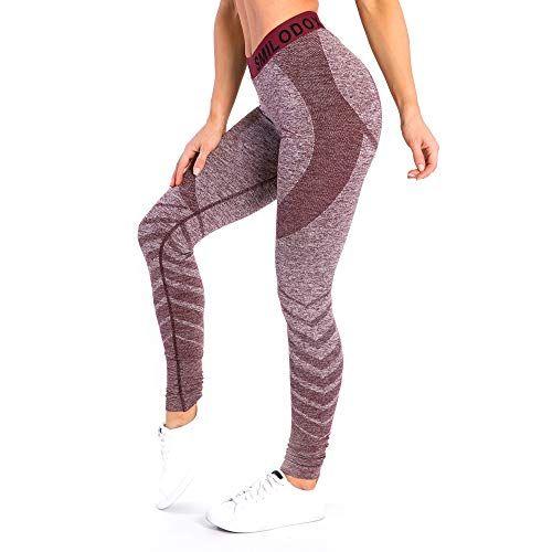 Damen 3//4 Capri Leggins Sporthose Fitness Laufhose Freizeit Training Jogginghose