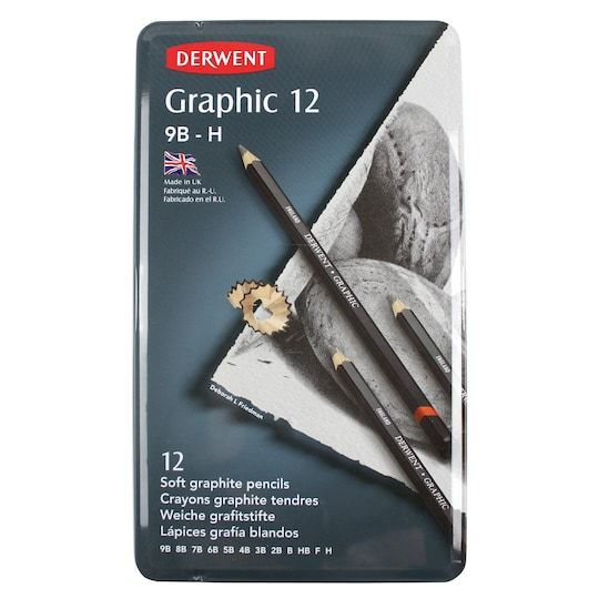 Derwent Graphic 12 Pencil Sketching Set Michaels Pencil