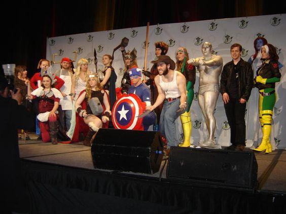 Marvel characters unite!
