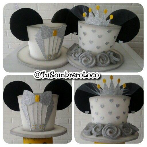 #Sombreros #boda #horaloca #disney #MickeyMouse #