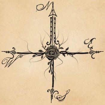 Compass Rose Tattoos: Symbolism and Designs | Compass rose tattoo ...