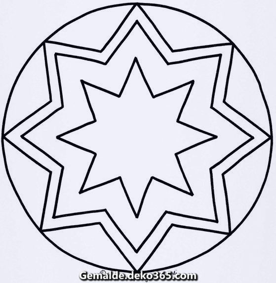 Wunderschone Sterne Mandalas Druckbare Farbung Zum Besten Von Kinder Mandala Firetruck Coloring Page Fantasy