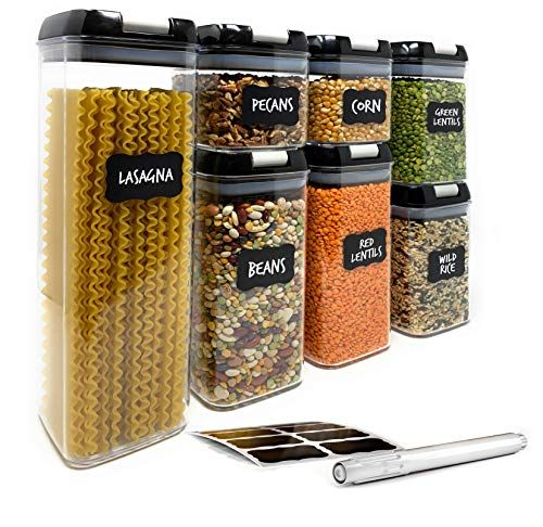 Airtight Food Storage Containers By Simply Gourmet 7 Piece