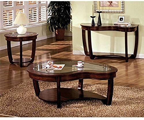 Enjoy Exclusive For Furniture America Tunton 3 Piece Glass Top
