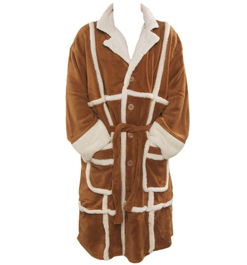 Only Fools and Horses Del Boy Parker Fleece Bath Robe! Lovely jubbly!