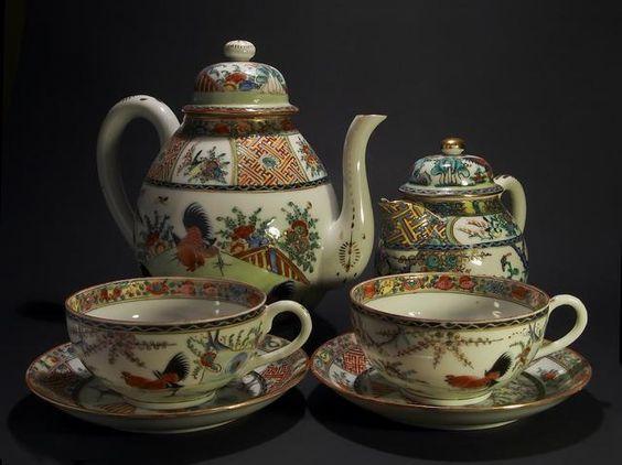 Service th anglais art de la table tea time pinterest chine porce - Service vaisselle anglais ...