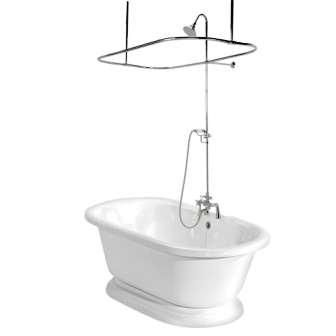 Stand Alone Tub With Shower Google Search House