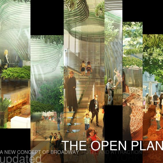 RETHINK HOTELS/ First Prize: OPEN PLAN