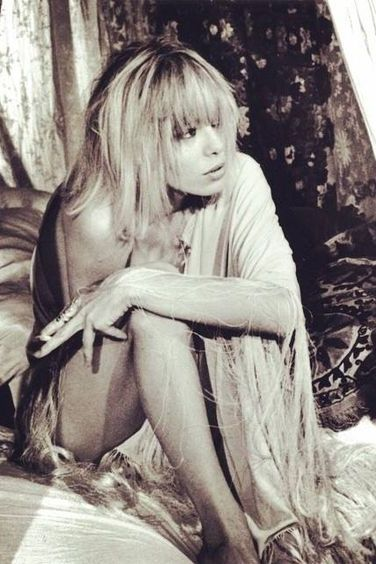 the most beautiful photos of Anita Pallenberg and her style...:
