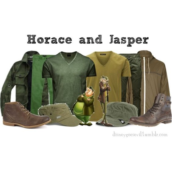 Horace and Jasper, created by disney-villains on Polyvore
