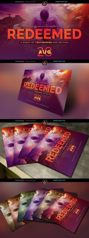 redeemed revival church flyer