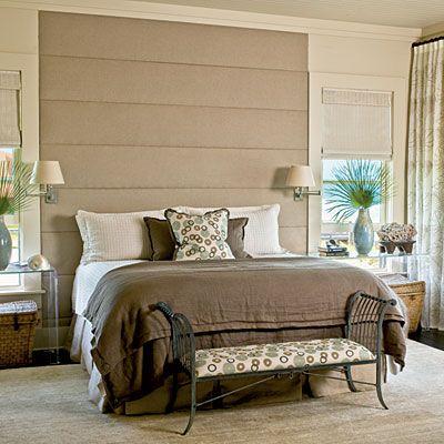 Guest bedroom - needs a splash of seafoam or powder blue