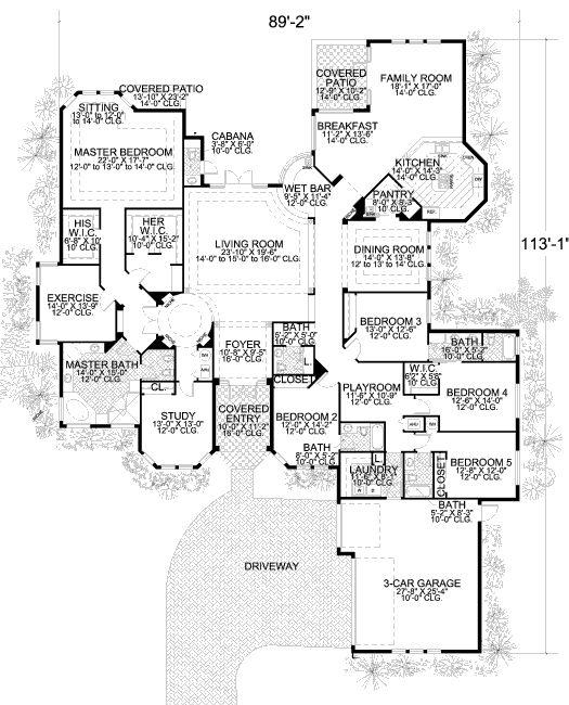 Marvelous Floor Plan