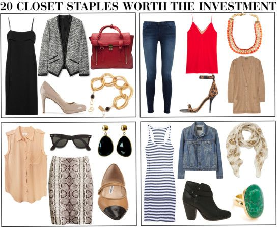 The 20 Closet Staples Worth The Investment