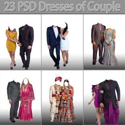 23 Psd Dresses Of Couple Free Download Wedding Album Design Photoshop Plugins Photoshop Software