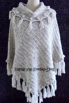 Crochet Virus Poncho : virus poncho - Google Search Crochet - Scarves, Shawls,Ponchos ...