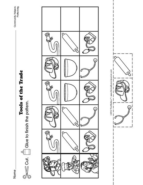 Number Names Worksheets kindergarten cut and paste worksheets free : Pinterest • The world's catalog of ideas