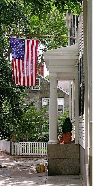 american flags. always appropriate.