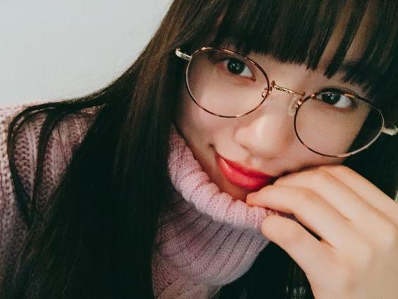 清原果耶のメガネ