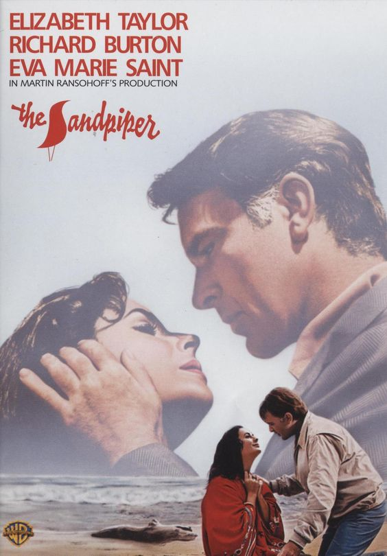 The Sandpiper. A 1965 drama set and filmed along the beautiful Big Sur coastlne. The unconventional love story features Elizabeth Taylor and Richard Burton at the height of their careers and personal relationship, and their chemistry together is intense and palatable. Taylor plays, Laura Reynolds, a free-spirited, struggling artist and unwed mother who lives an unconventional, bohemian lifestyle with her young son by the sea in harmony with nature. Burton, plays an intense, stoic clergyman…