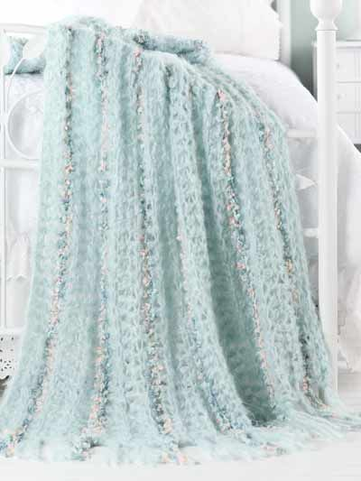 Free Crochet Patterns With Q Hook : Wispy, luxurious yarn, a size Q hook and a few hours are ...