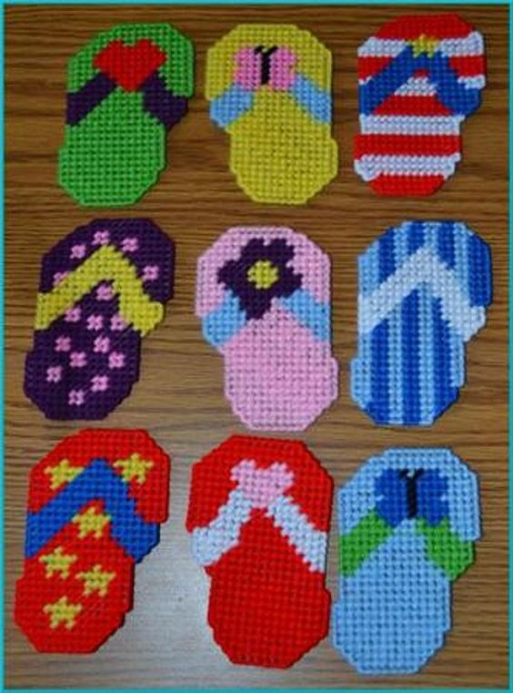 Flip Flop Magnets by cecrafts on Etsy, $2.00