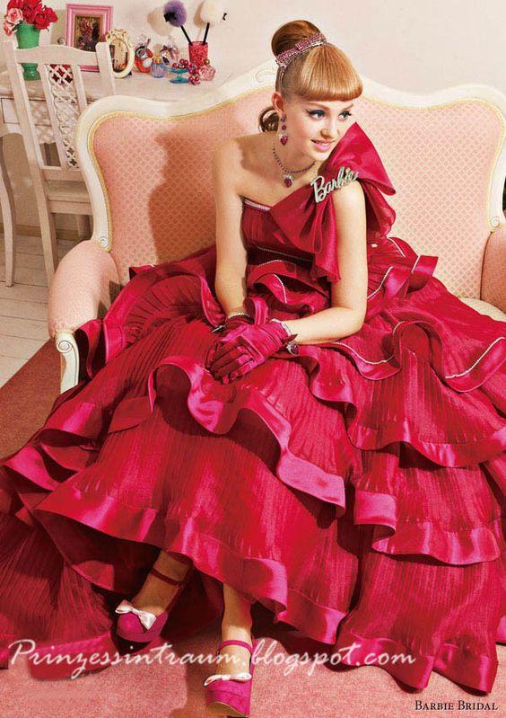 Barbie Brautkleid