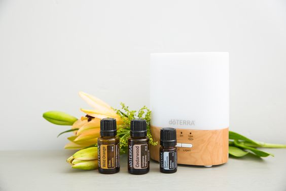 one of the way to use essential oil is by diffusing them