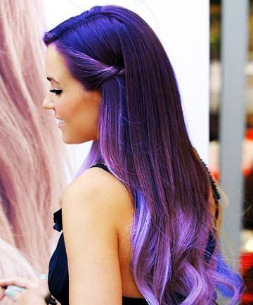 The latest hair color trend has us modeling our manes after the Milky Way. Here, our favorite looks