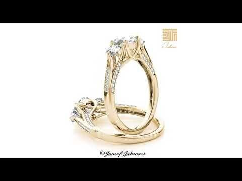أجمل خواتم و دبل الماس 2019 Youtube Engagement Rings Engagement Rings