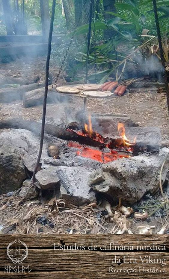 New plate from the camping kit. -  Viking Era Culinary Studies and Haglaz Trainings with Guests March 11 and 12, 2017
