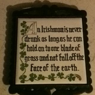 Ol' Irish saying