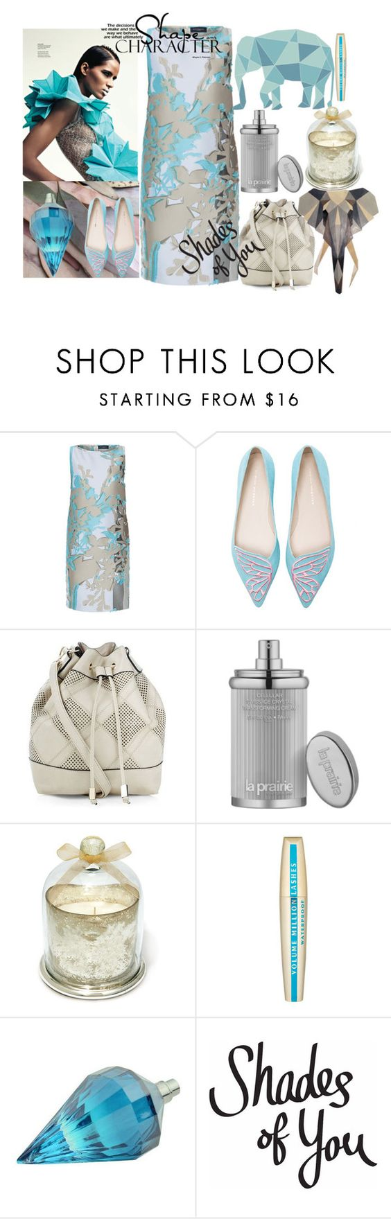"""""""Some Shades of You"""" by vittorio-1 ❤ liked on Polyvore featuring Piazza Sempione, Sophia Webster, New Look, La Prairie and L'Oréal Paris"""