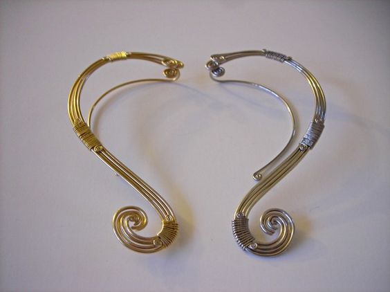 Reserved for essre Gaia Ear-Wrap in silver